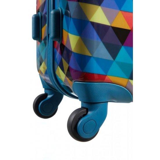 Surf Спинер на 4 колела American Tourister Jazz 67 см- среден размер, разноцветeн