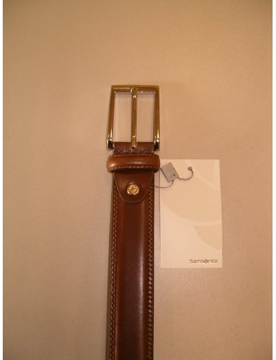 Light Brown Men's Belt from 100% leather - Outlet section