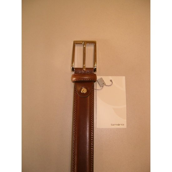 Light Brown Men's Belt from 100% leather
