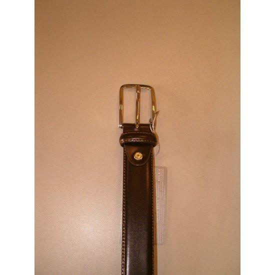 Dark Brown Men's Belt from 100% Leather