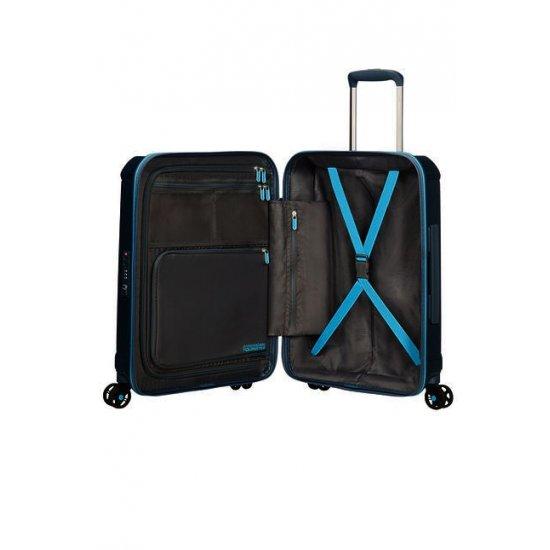 Technum 4-wheel 55cm Spinner suitcase Metallic Blue