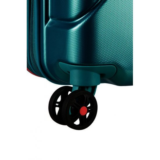 Technum 4-wheel 55cm Spinner suitcase Jade Green