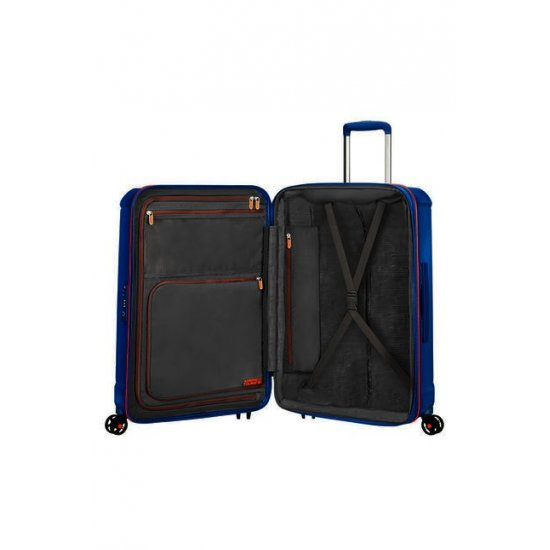 Technum 4-wheel 55cm Spinner suitcase Blue Blurred