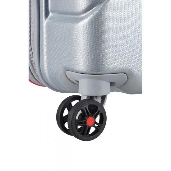 Technum 4-wheel 76cm large Spinner Expandable suitcase Aluminium