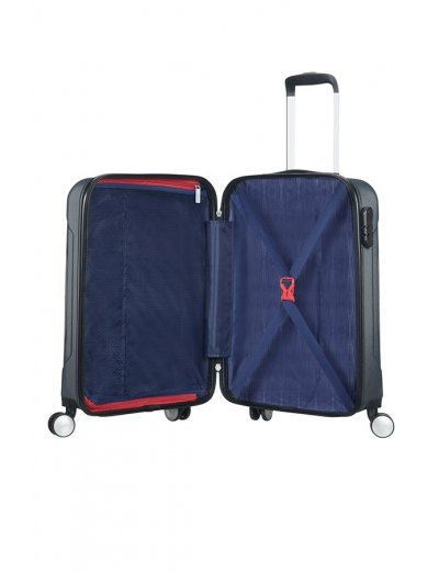 Tracklite 4-wheel Spinner suitcase 55cm Dark Slate - Product Comparison
