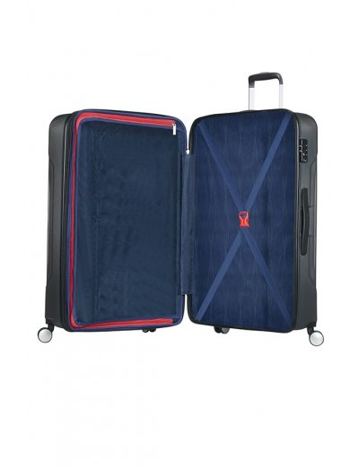 Tracklite 4-wheel Spinner suitcase 67cm Exp. Dark Slate - Hardside collection