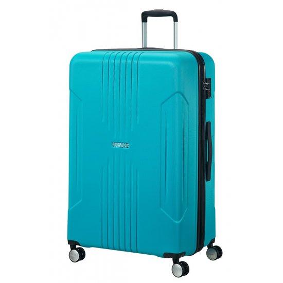 Tracklite 4-wheel Spinner suitcase 78cm Exp. Sky Blue