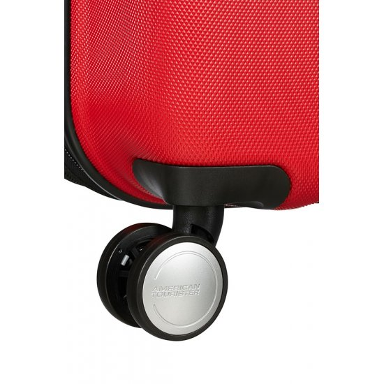Tracklite 4-wheel Spinner suitcase 78cm Exp. Flame Red