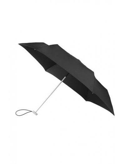 3 Sect. Manual Black Flat - Mini - Ladies umbrella