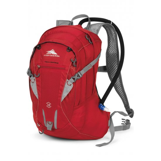 Tourist backpack High Sierra Amargosa 18 with a 2 lit. tank