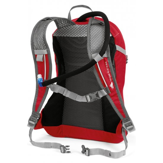 Tourist backpack High Sierra Armagosa 18 with a 2 lit. tank