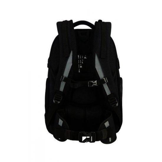Turn Up Backpack  L Black