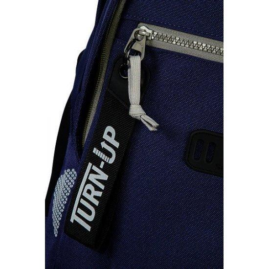 Turn Up Backpack  L Royal Cobalt