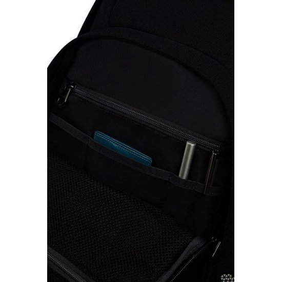 Turn Up Backpack  M Black