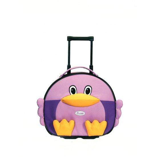 School bag on 2 wheels Chicken