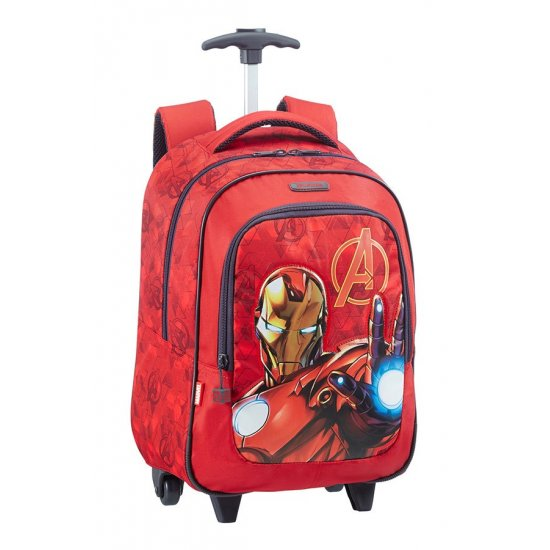 Avengers Triangle Backpack with Wheels