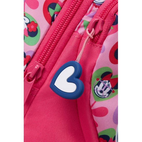 Minnie Love school backpack with two wheels