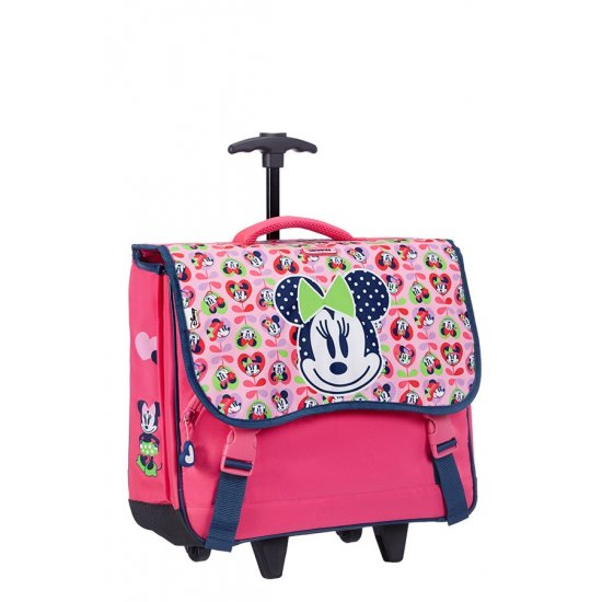 Minnie Love school backpack with two wheels M