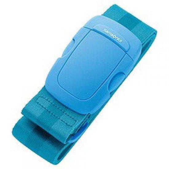 Универсален син колан за пристягане на багаж