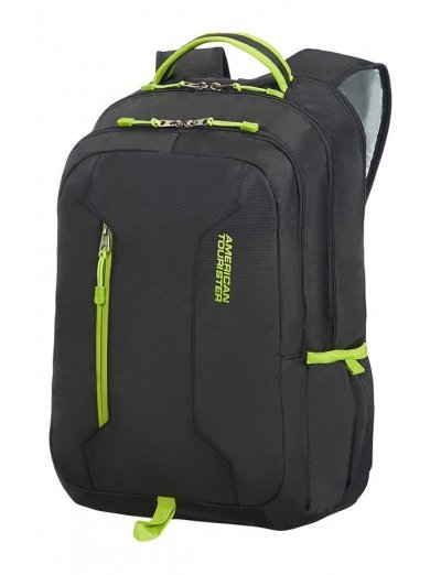 Urban Groove Laptop Backpack 39.6cm/15.6inch Black/Lime Green - Kids' series