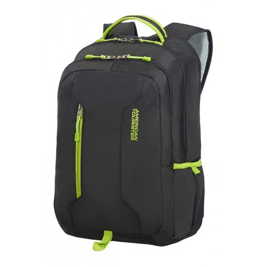 Urban Groove Laptop Backpack 39.6cm/15.6inch Black/Lime Green