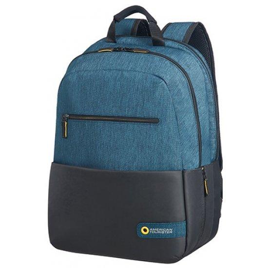 City Drift Laptop Backpack 39.6cm/15.6inch Black/Blue