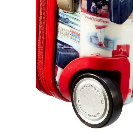 Винтидж количка за ръчен багаж на 2 колелца American Tourister Jazz 55 см
