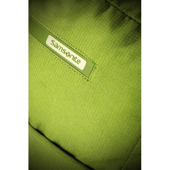 Зелена компютърна раница на колела за 15.6 инча лаптоп