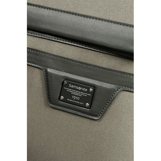 Zenith Briefcase 2 Gussets 39.6cm/15.6″ Taupe