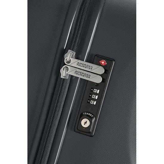 Ziggzagg 4-wheel Spinner suitcase 55 cm Titanium