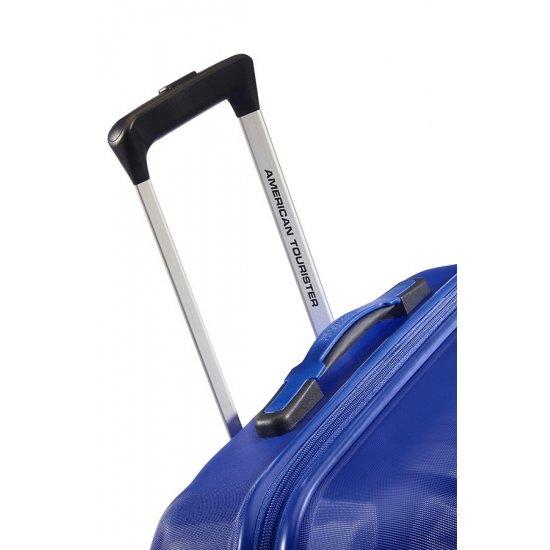 Ziggzagg 4-wheel Spinner suitcase 55 cm Orion Blue