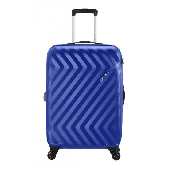 Ziggzagg 4-wheel Spinner suitcase 67 cm Orion Blue