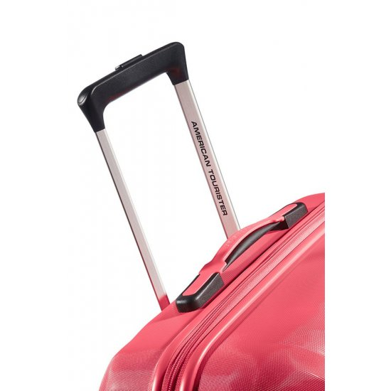 Ziggzagg 4-wheel Spinner suitcase 55 cm Bright Pink