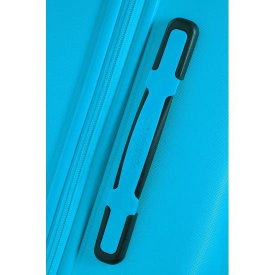Ziggzagg 4-wheel Spinner suitcase 55 cm Spring Blue