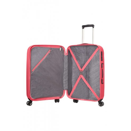 Ziggzagg 4-wheel Spinner suitcase 77 cm Bright Pink