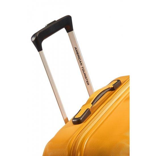Ziggzagg 4-wheel Spinner suitcase 67 cm Golden Yellow