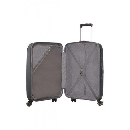 Ziggzagg 4-wheel Spinner suitcase 67 cm Titanium