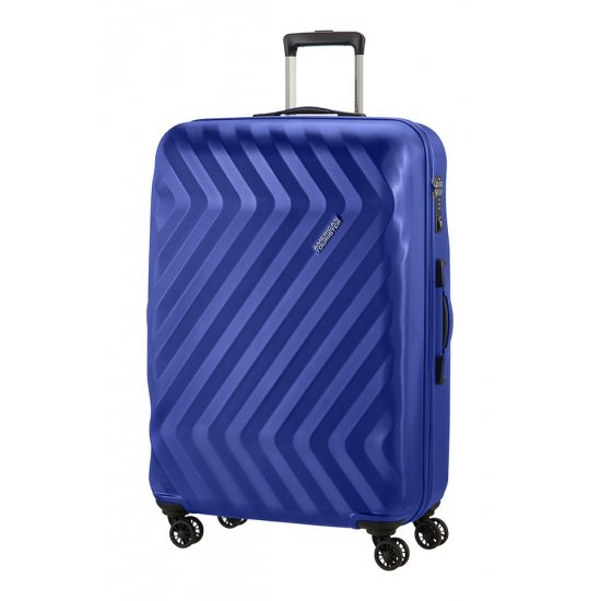 Ziggzagg 4-wheel Spinner suitcase 77 cm Orion Blue