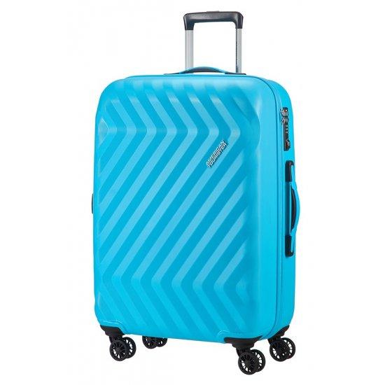 Ziggzagg 4-wheel Spinner suitcase 67 cm Spring Blue